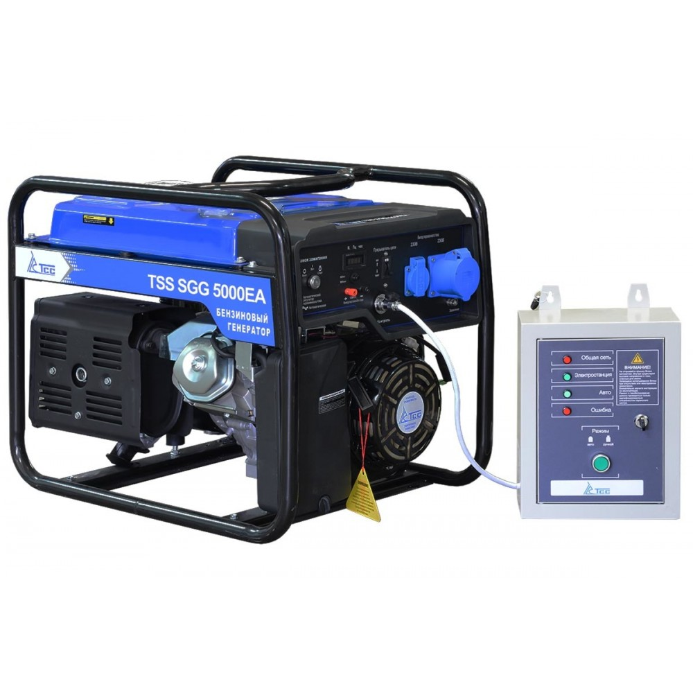 Бензогенератор TSS SGG 5000 EA c АВР