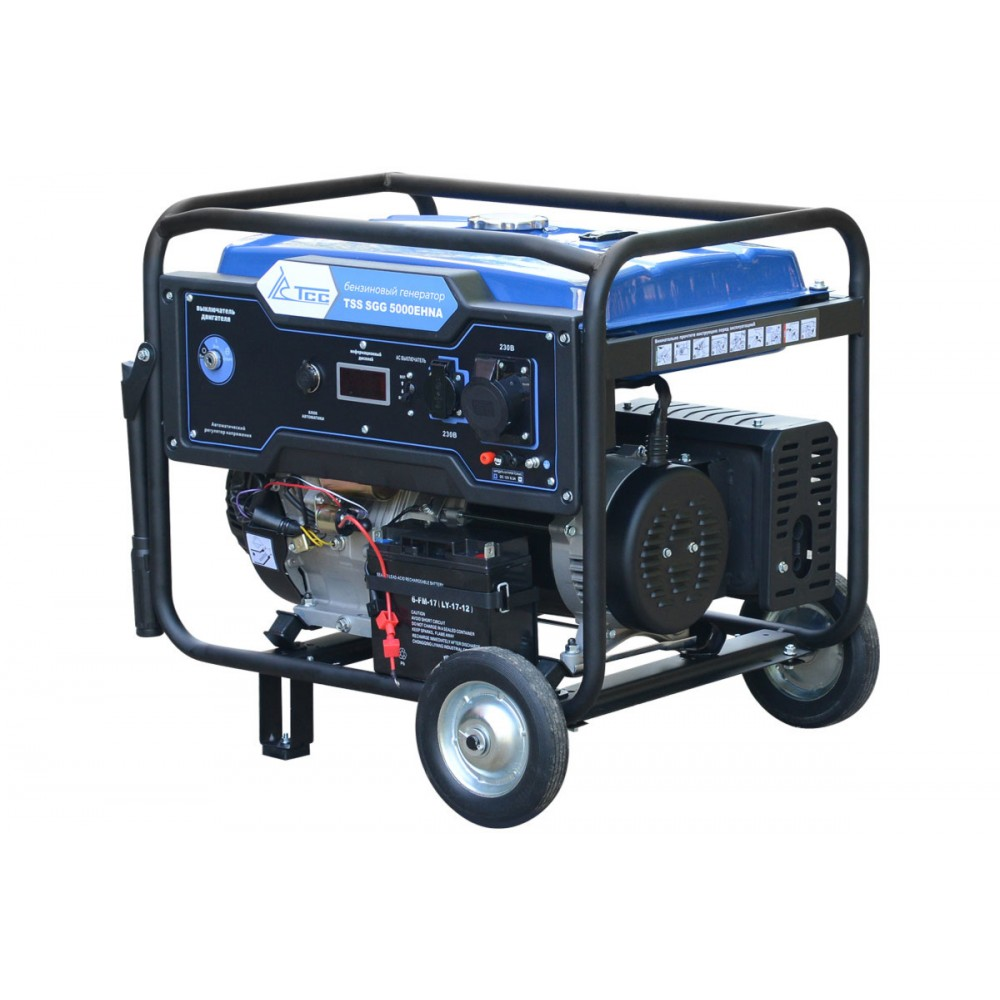 Бензогеннератор TSS SGG 5000EHNA