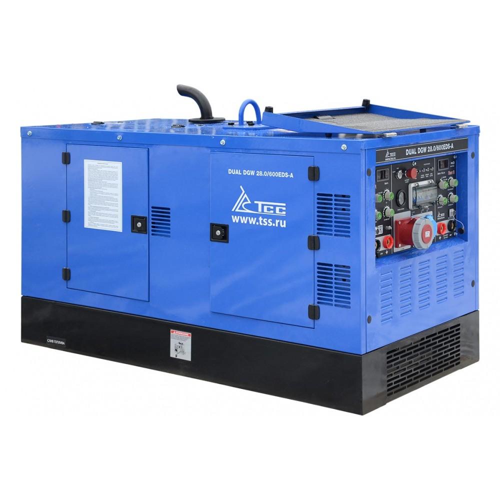 Двухпостовой сварочный генератор TСС 3 кВт DUAL DGW 28/600EDS-A