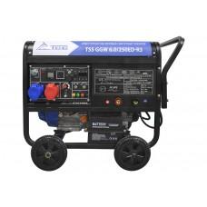 Бензиновый сварочный генератор TSS GGW 6.0/250ED-R3
