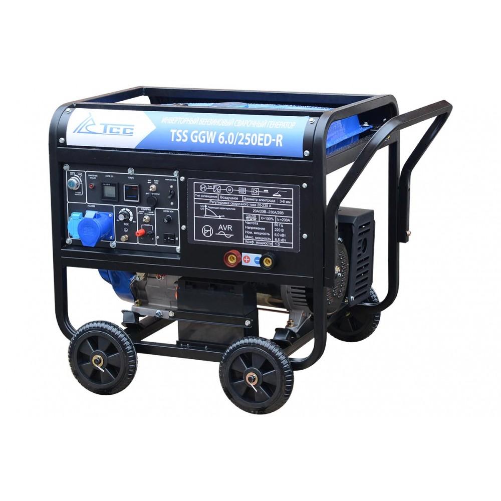 Бензиновый сварочный генератор TSS GGW 6.0/250ED-R