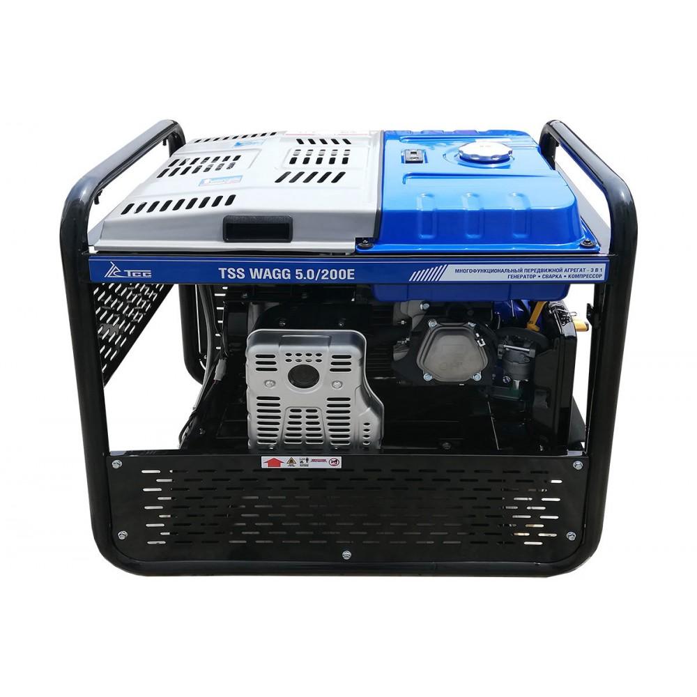 Многофункциональный мобильный агрегат 3 в 1 TSS WAGG 5.0/200E