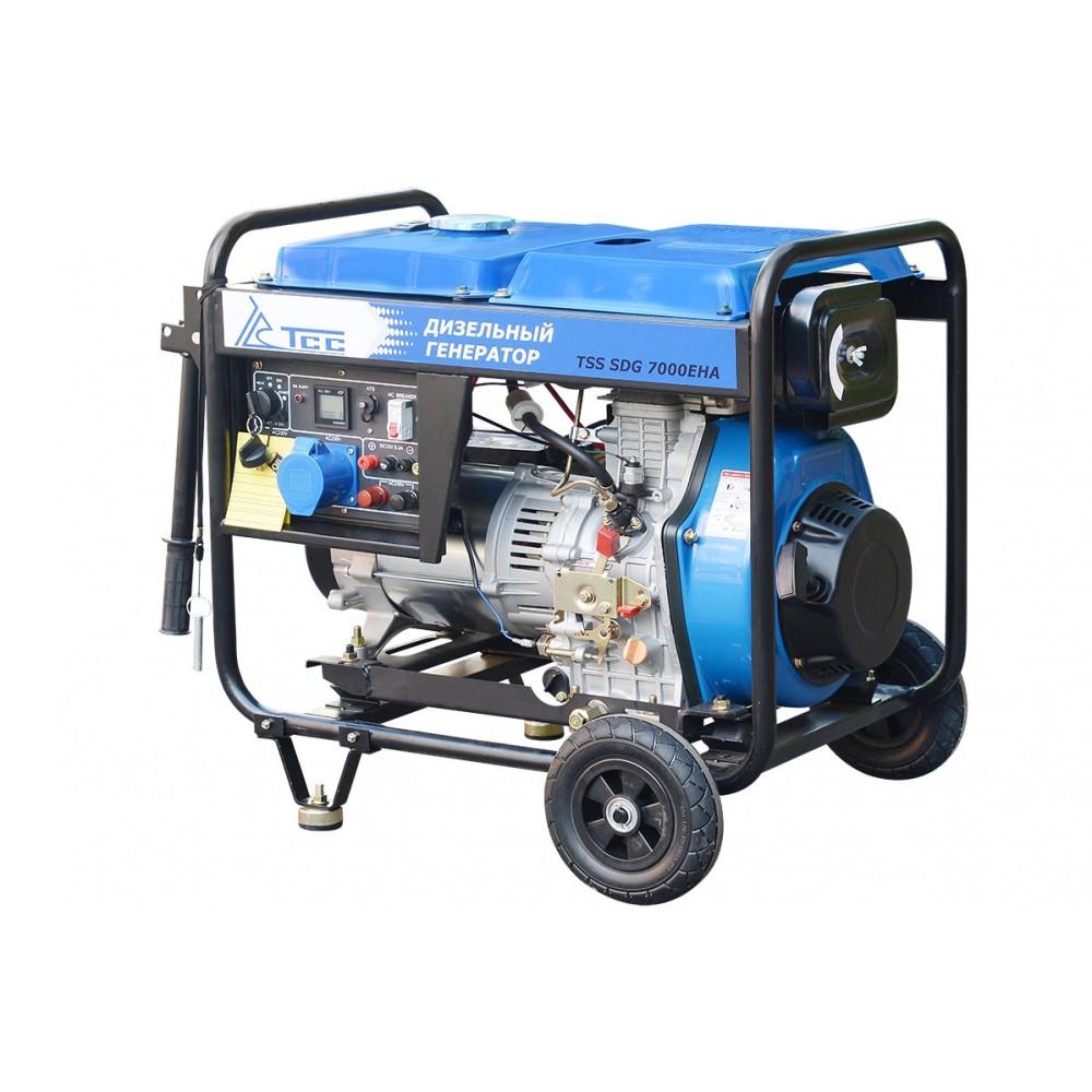 Дизельный генератор TSS SDG 7000EHA