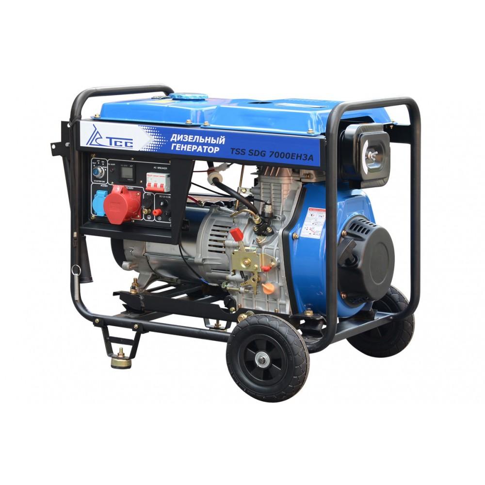 Дизельный генератор TSS SDG 7000EH3A
