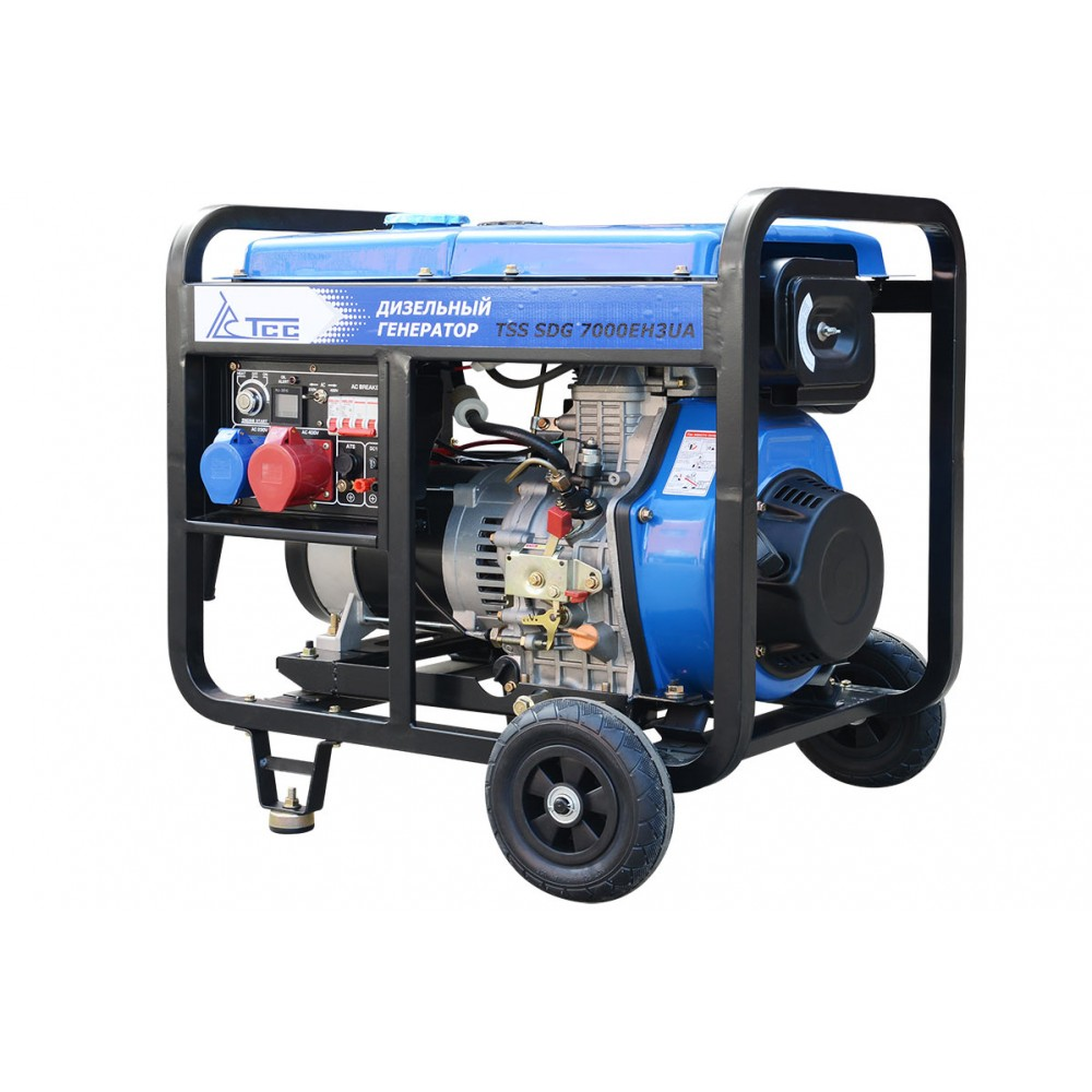 Дизельный генератор TSS SDG 7000EH3UA