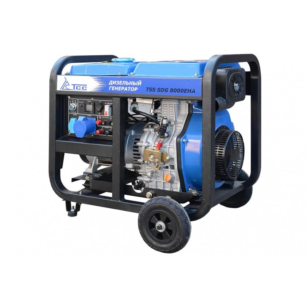 Дизельный двигатель TSS SDG 8000EHA