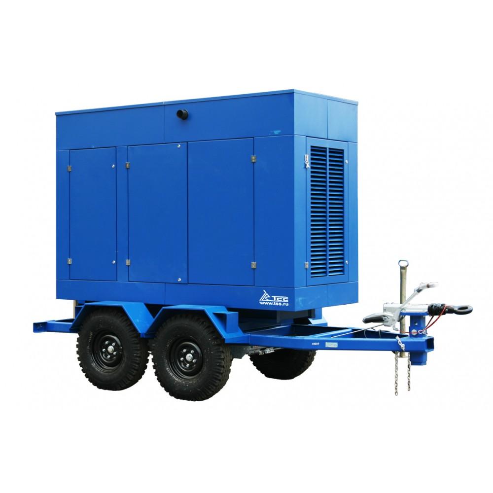 Дизельный генератор TTD 55TS ST на прицепе