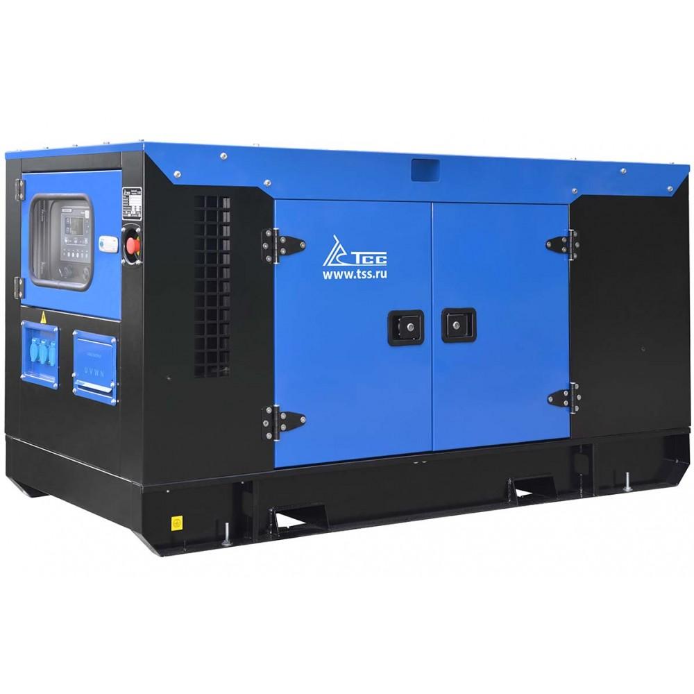 Дизельный генератор в кожухе TSD 280TS ST