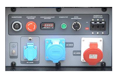 Бензиновый генератор TSS SGG 16000EH3LA панель