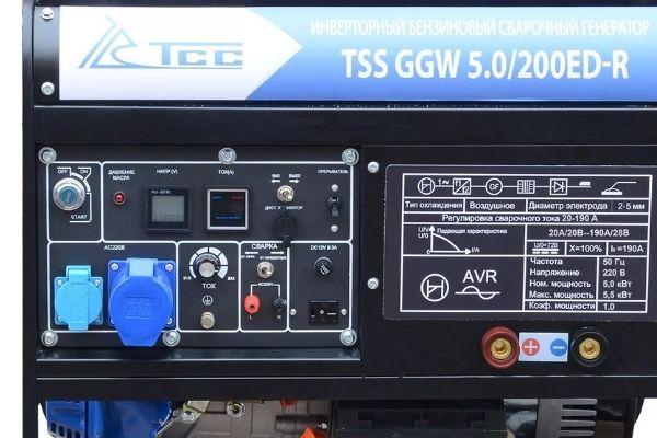 Преимущества генератора TSS 5 кВт: