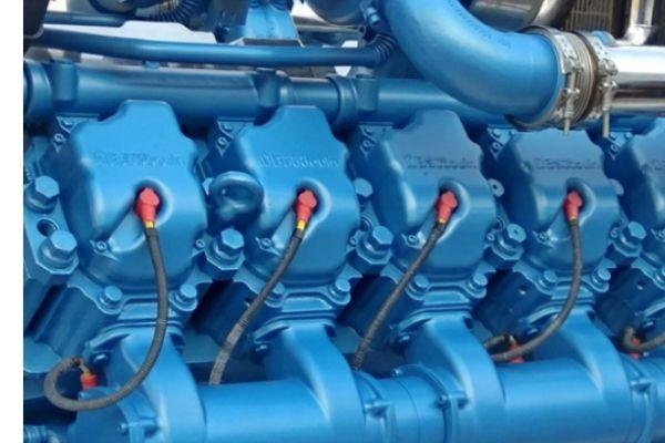 Двигатель Baudouin для генератора ТСС