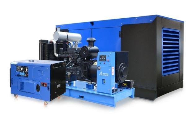 Варианты исполнения  генератора  ТСС 100 кВт: