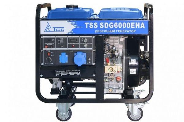 TSS SDG 6000EHA 6000 квт