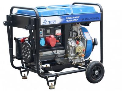 Портативный генератор TSS SDG 7000