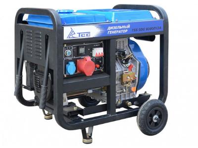 Портативный генератор TSS SDG 8000EH3A